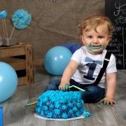 Cake smash Fotoshooting Kassel - Fotostudio Bär